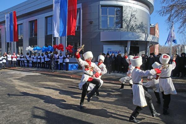 В Томске открыт новый спорткомплекс