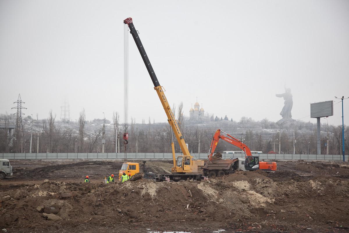 Строительство стадиона к ЧМ-2018 по футболу началось в Волгограде