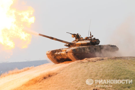 Мотострелки в Кемеровской области получили 15 танков Т-72Б3