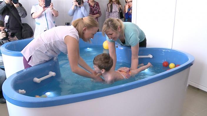 В Волгограде открылась водолечебница для реабилитации детей-инвалидов