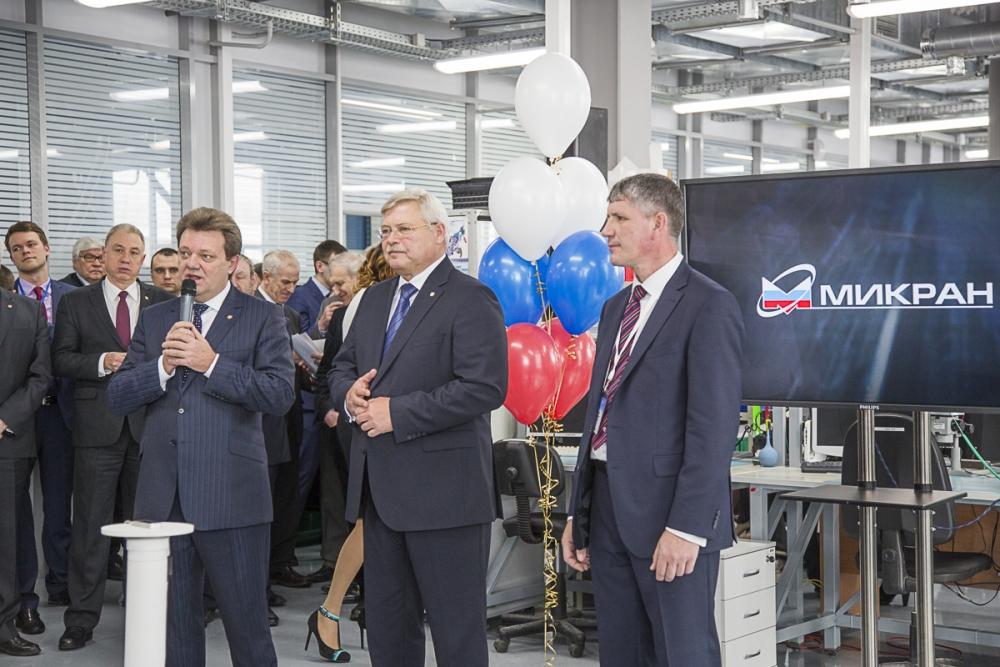 В Томске состоялось открытие завода радиоэлектронной аппаратуры