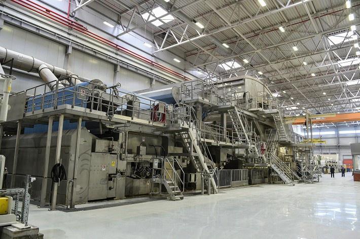 В Татарстане состоялось открытие завода по производству бумажных изделий