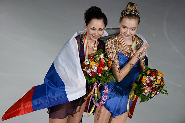 Российская фигуристка стала чемпионкой мира по фигурному катанию