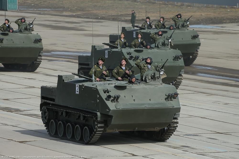 "Десантируемый бронетранспортер БТР-МДМ ""Ракушка""."