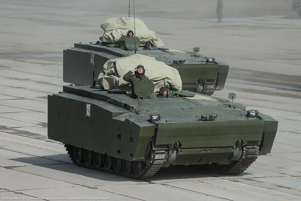 """3. Бронетранспортер на средней гусеничной платформе """"Курганец-25""""."""