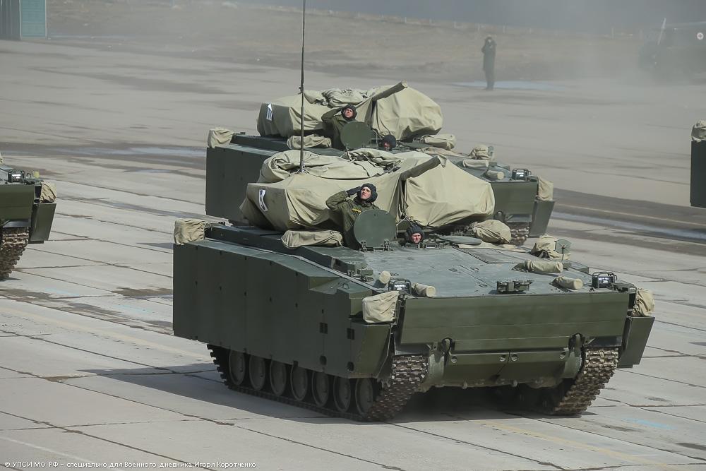 """4. Боевая машина пехоты на средней гусеничной платформе """"Курганец-25""""."""