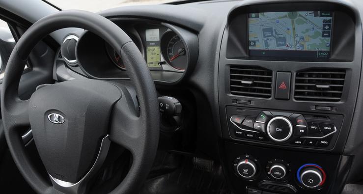 Lada Kalina со встроенным навигатором ГЛОНАСС/GPS появилась в продаже