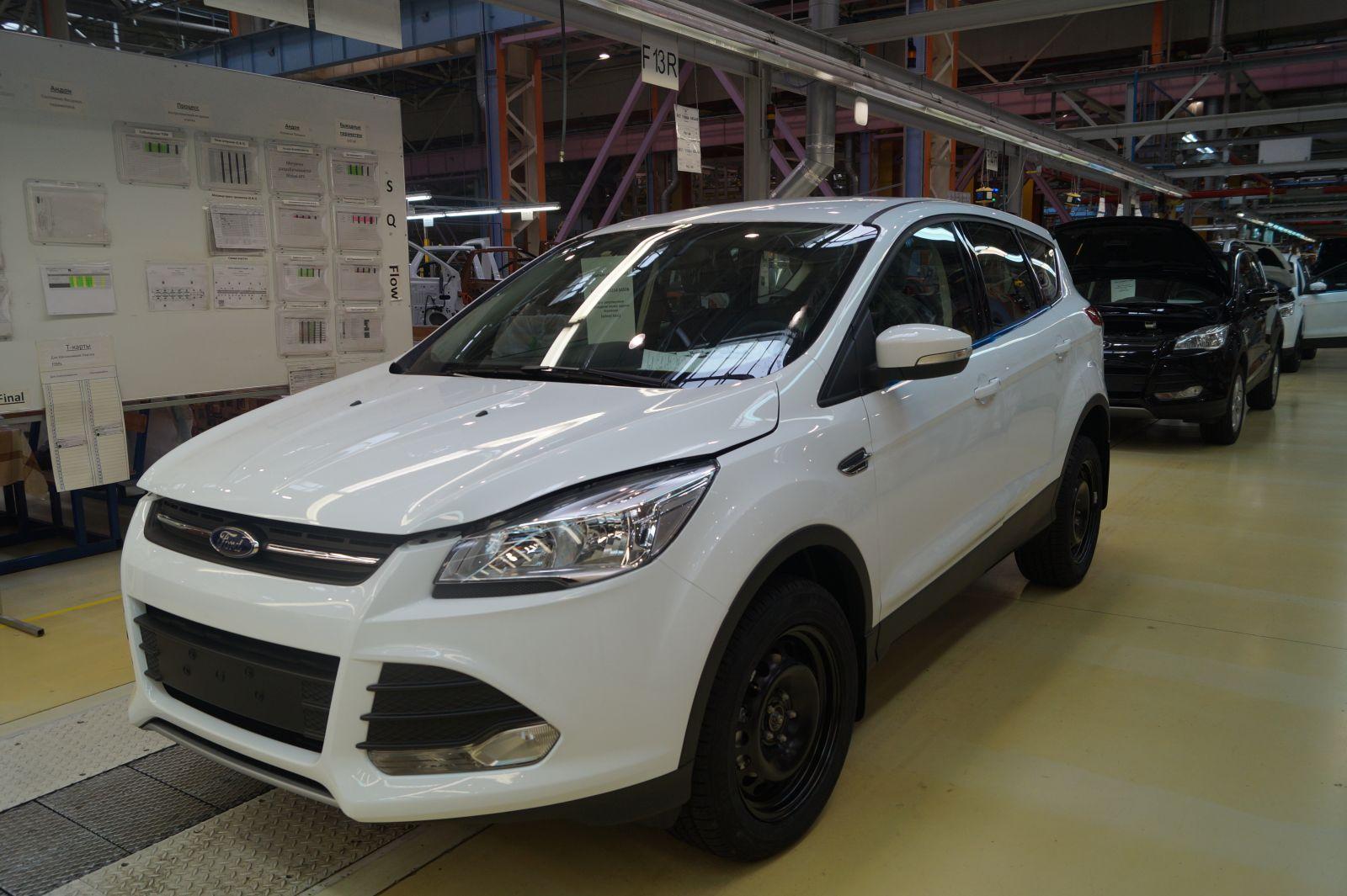 На ОЭЗ «Алабуга» запустили производство нового Ford Transit по технологии полного цикла