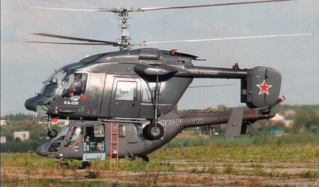 Партия вертолетов Ка-226
