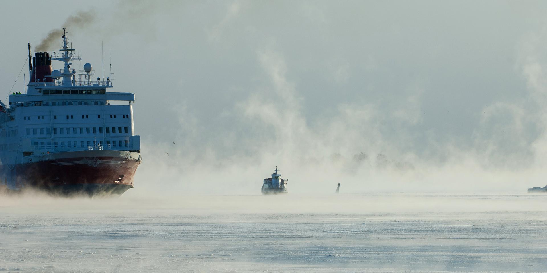 В Петербурге строят самый большой в мире атомный ледокол