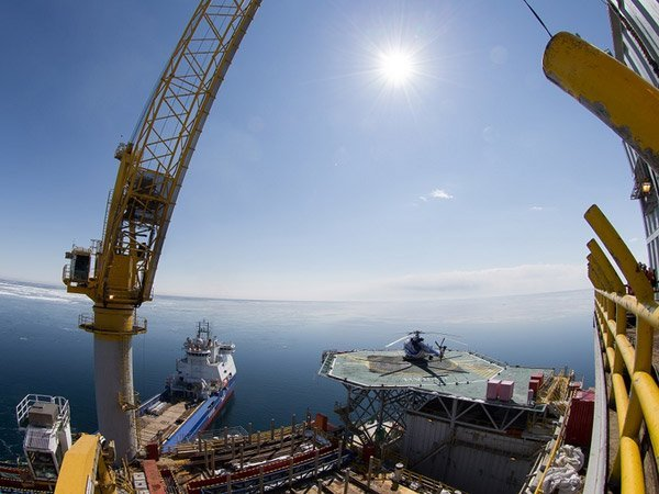Буровая платформа «Орлан» проекта «Сахалин-1»