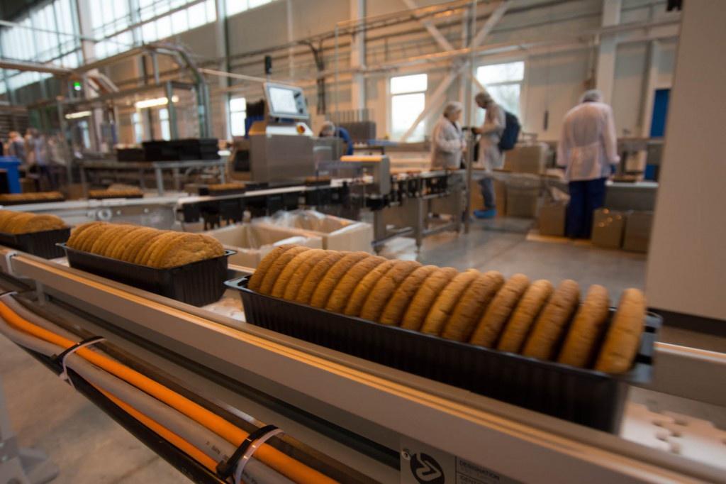 В Ленинградской области открылась новая кондитерская фабрика