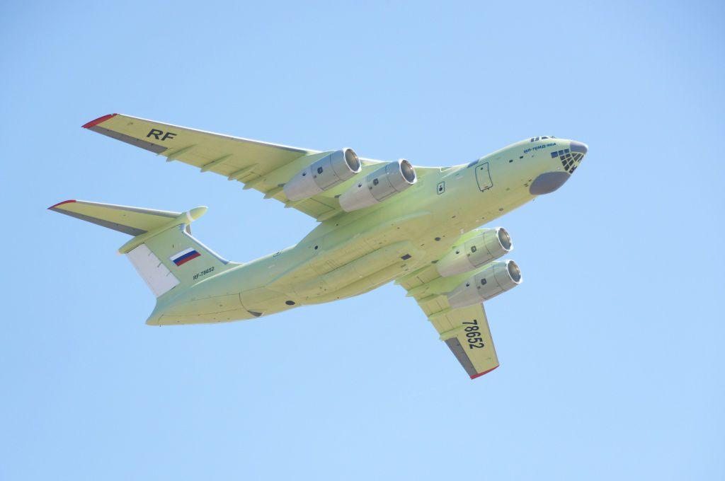 Минобороны РФ получило первый серийный военно-транспортный самолет Ил-76МД-90А