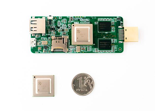 «ЭЛВИС-НеоТек» представляет уникальный российский процессор 40 нанометров и системы на его основе