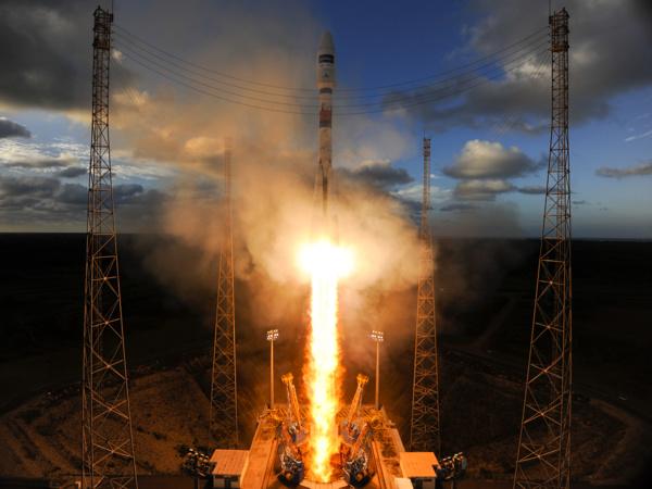 Ракета-носитель «Союз-2.1а» отправилась на орбиту