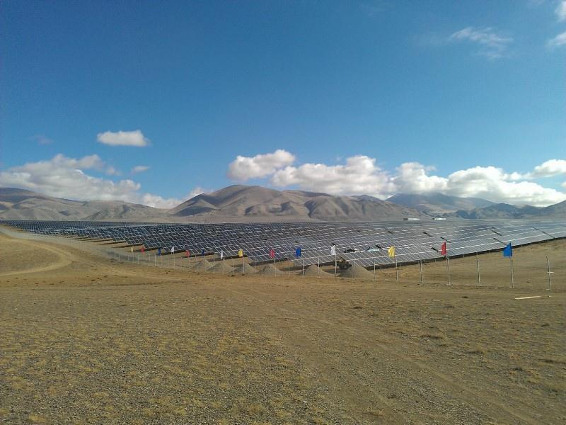 Крупнейшая в России солнечная электростанция начала поставки электроэнергии