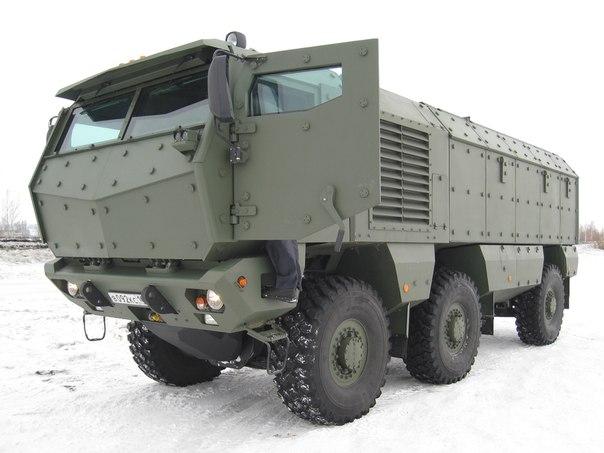 Спецназовцы ЮВО получили партию бронеавтомобилей «Тайфун»