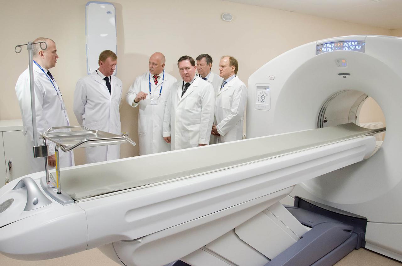 В Курске открыли региональный Центр позитронно-эмиссионной томографии