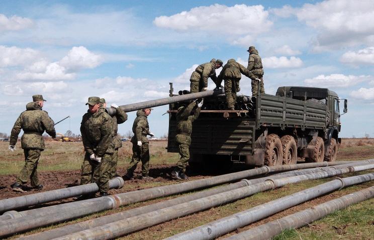 Подразделения Минобороны РФ полностью обеспечили пресной водой Керчь, Феодосию и Судак