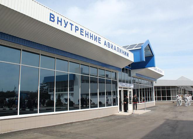 В аэропорту Симферополь открыли два терминала