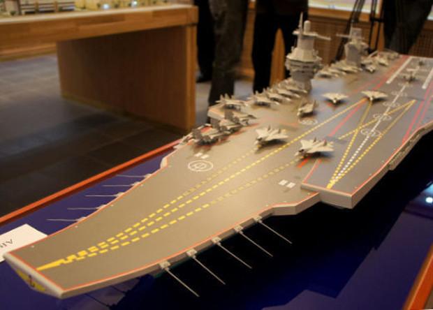 В России завершилось проектирование нового авианосца