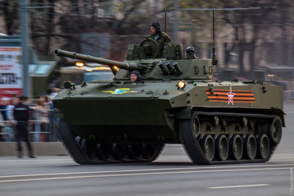 БМД-4М «Садовница» на репетиции Парада
