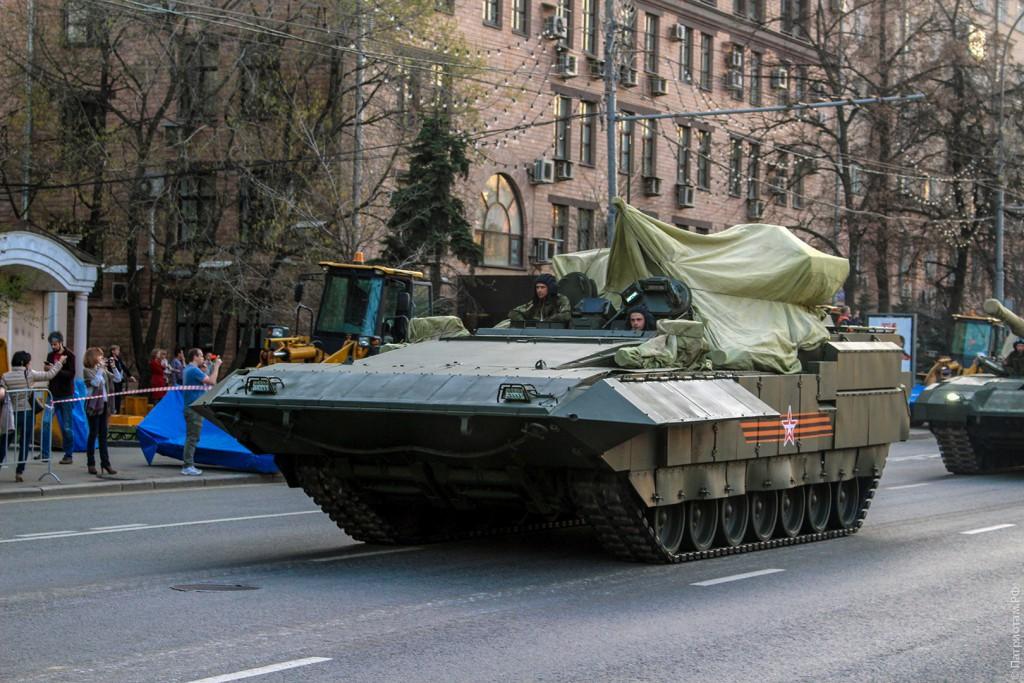 "T-15 Тяжелая БМП на платформе ""Армата""."