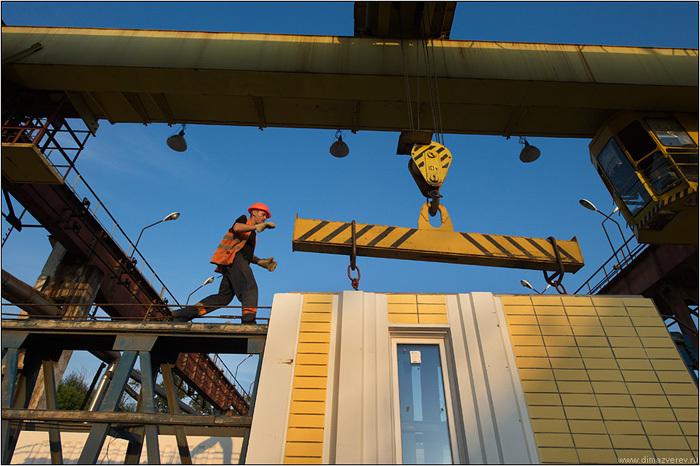 В Новокуйбышевске Самарской области открыт домостроительный комбинат