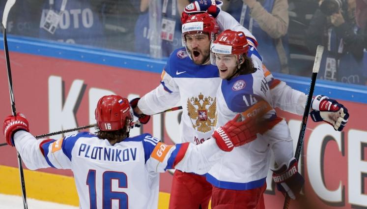 Сборная России по хоккею разгромила США и вышла в финал ЧМ