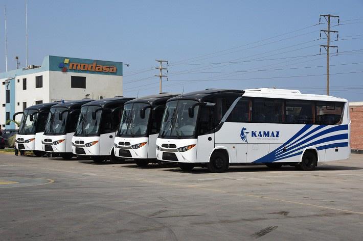 В Перу запущен выпуск автобусов на базе шасси КАМАЗ
