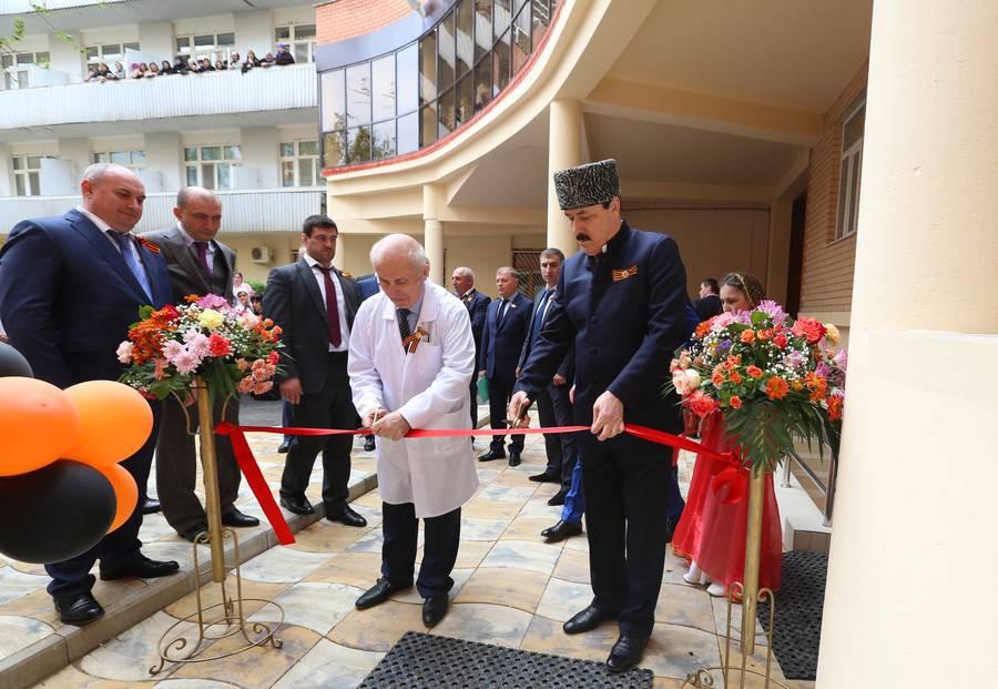 В Махачкале состоялась церемония открытия нового корпуса Госпиталя ветеранов