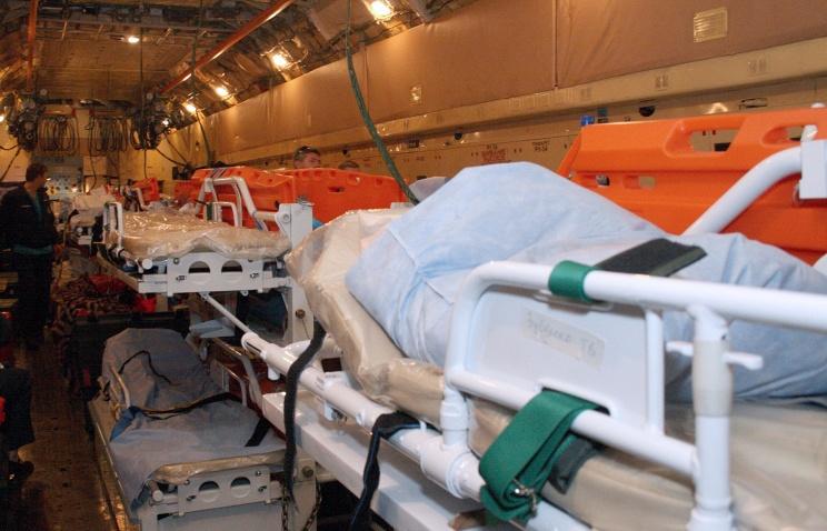 Медицинский вертолетный модуль поступил в войска Центрального военного округа