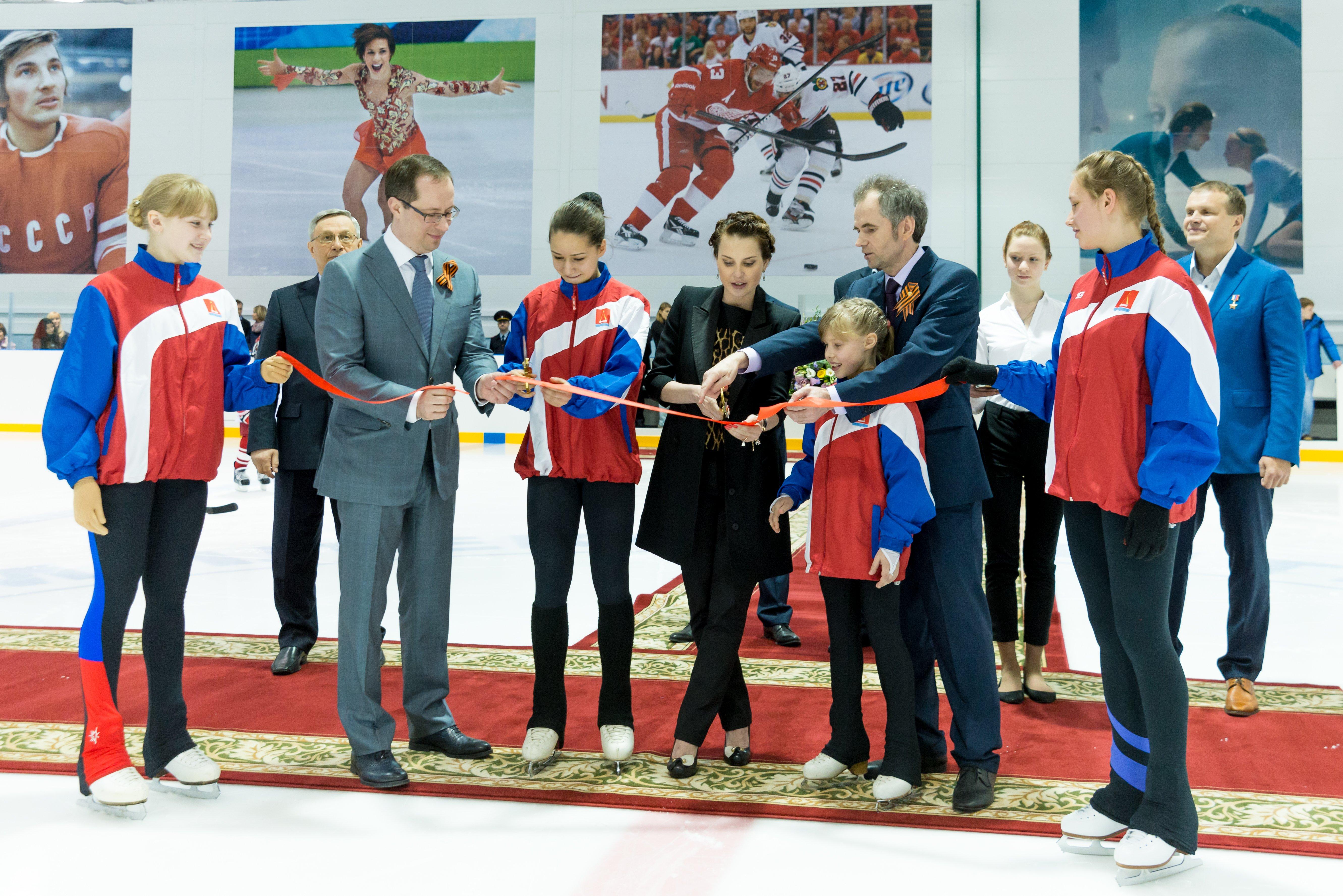 Новый ледовый дворец открылся в Московской области