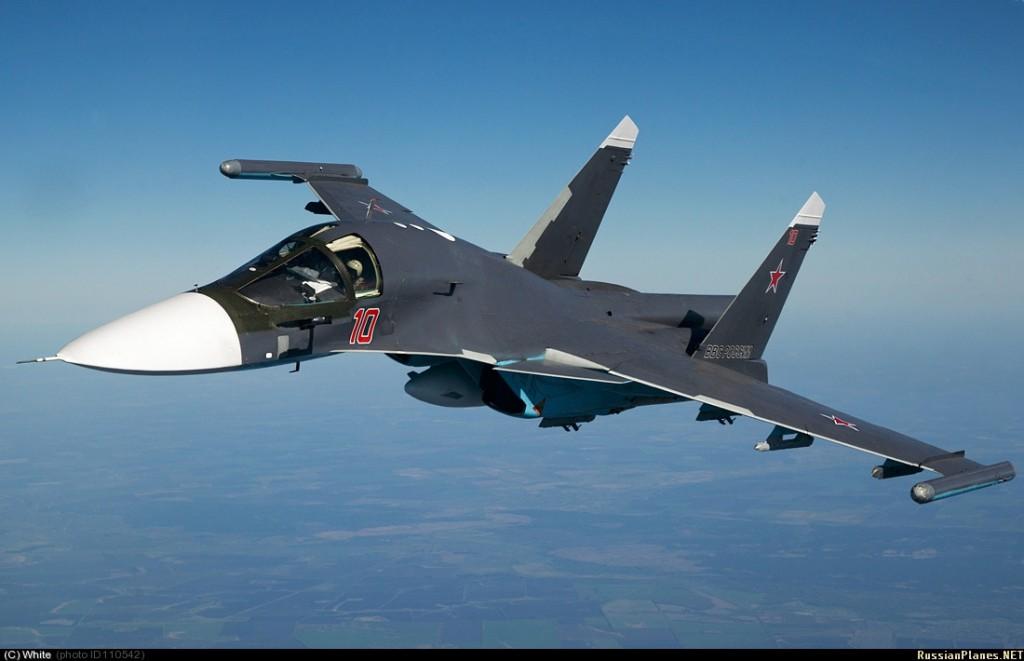 Партия Су-34 в рамках ГОЗа поступила в ВВС