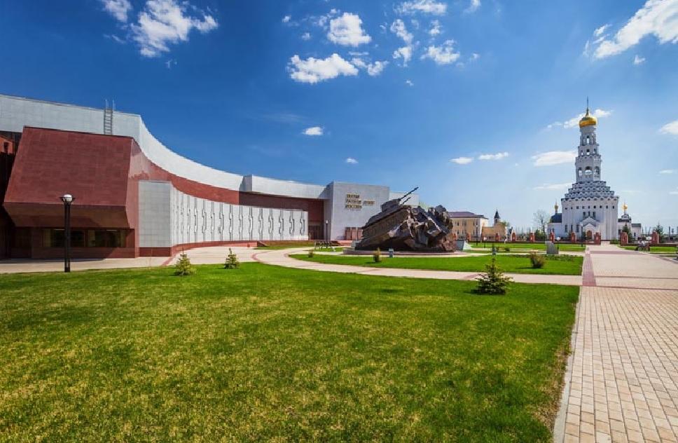 Первый в России открытый танкодром построен под Белгородом