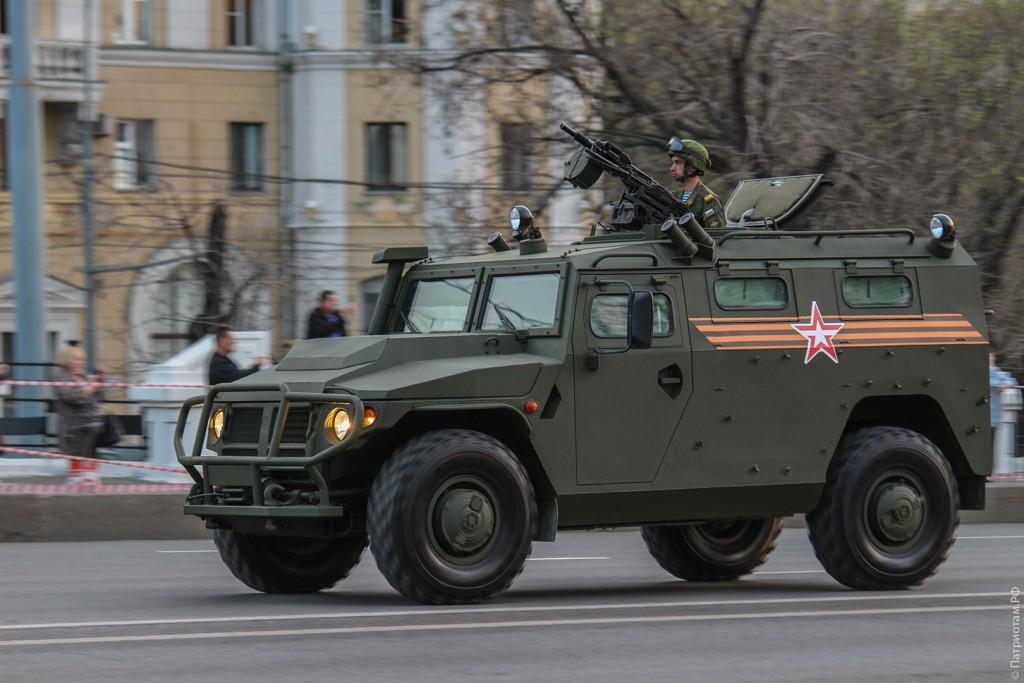 Автомобиль ГАЗ-2330 «Тигр»