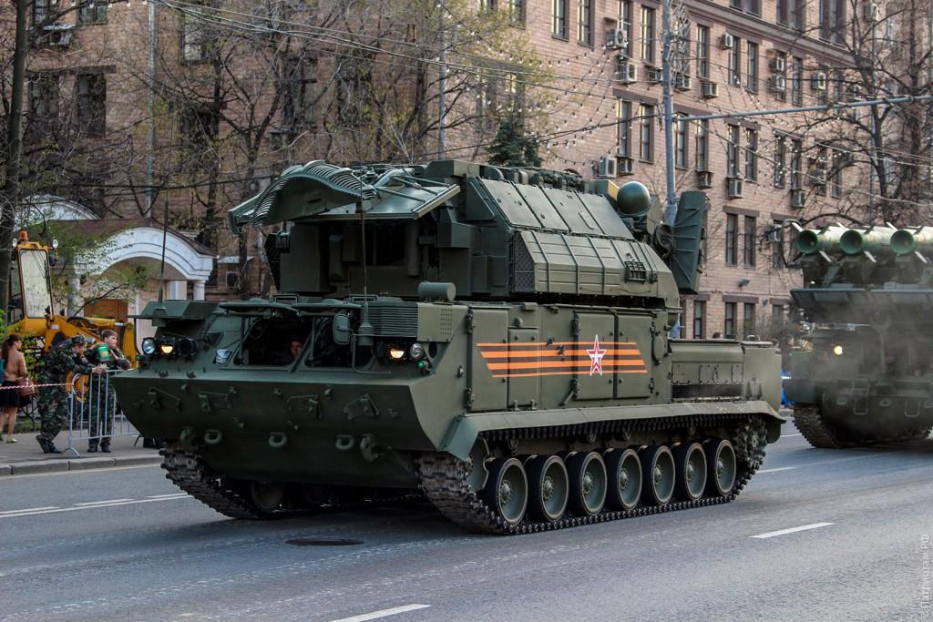 """Боевая машина 9А331-1 """"Тор"""""""