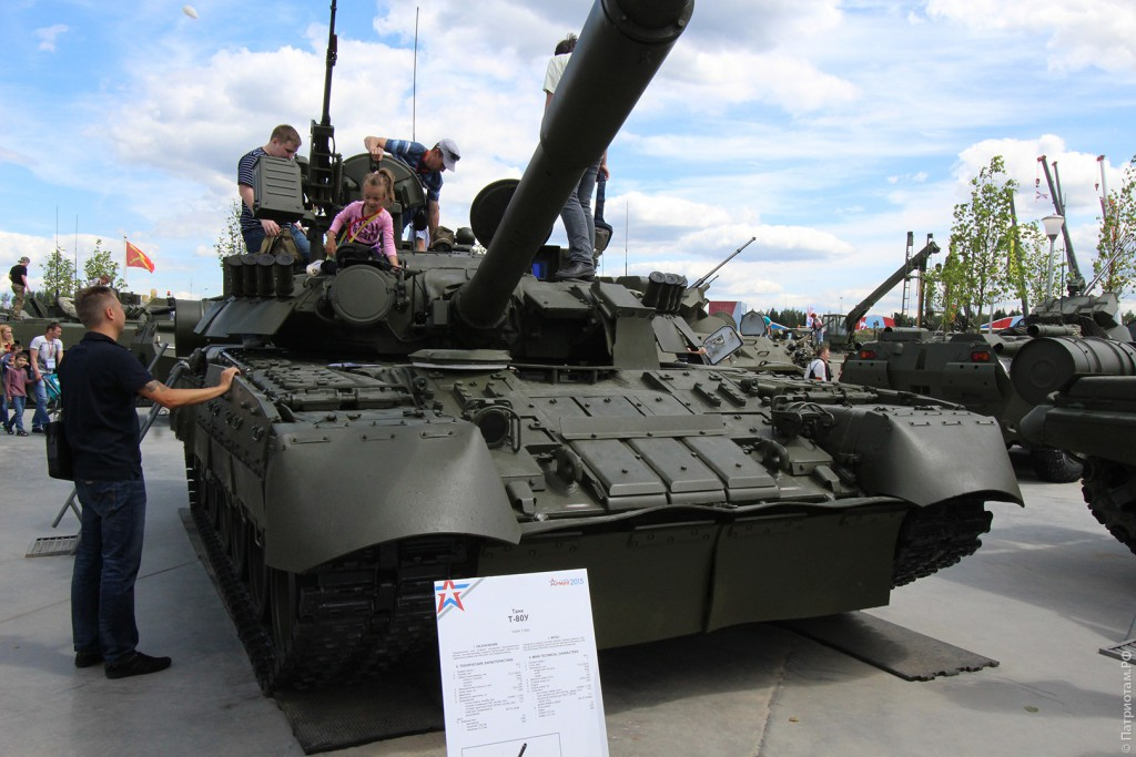 """Танк """"Т-80У"""""""