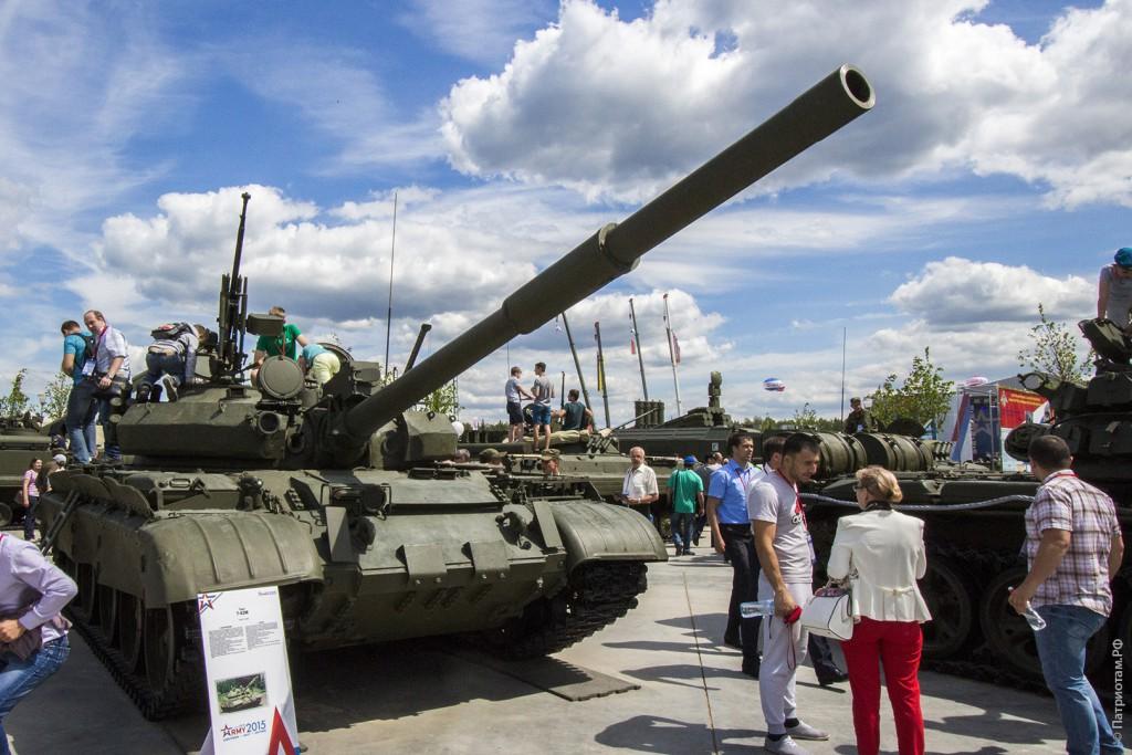 "Танк ""Т-62М""."