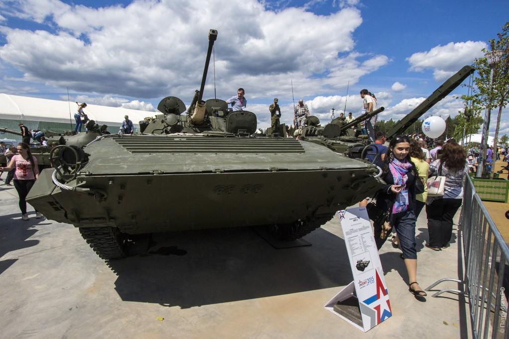 Боевая машина пехоты «БМП-2».