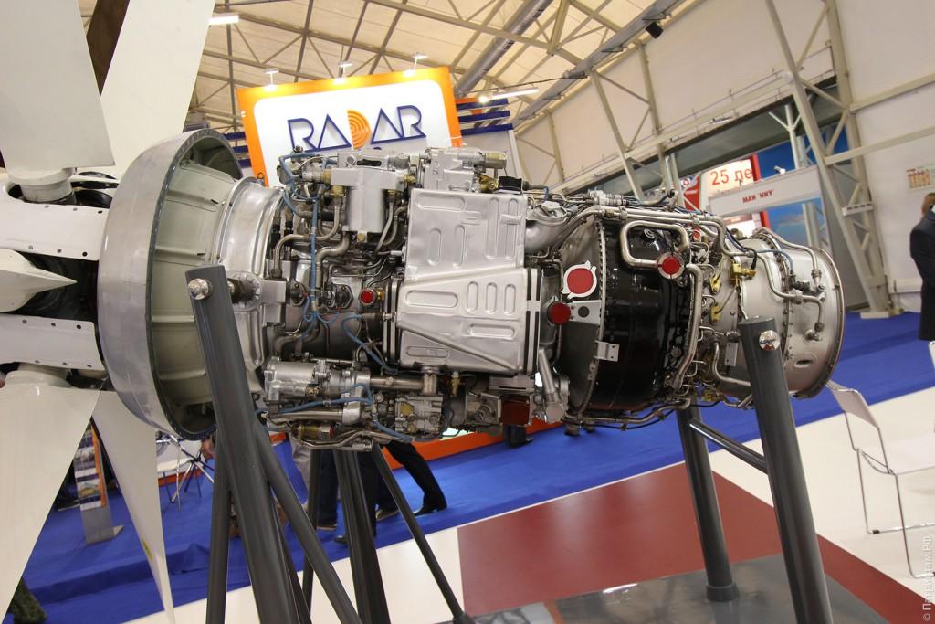 """Двигатели на стенде """"ОДК"""" (""""Объединенная двигателестроительная корпорация"""")."""
