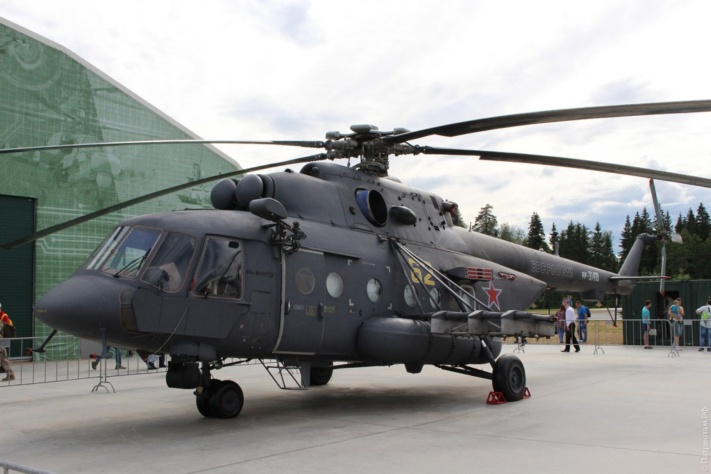 """Вертолет """"Ми-8АМТШ""""."""