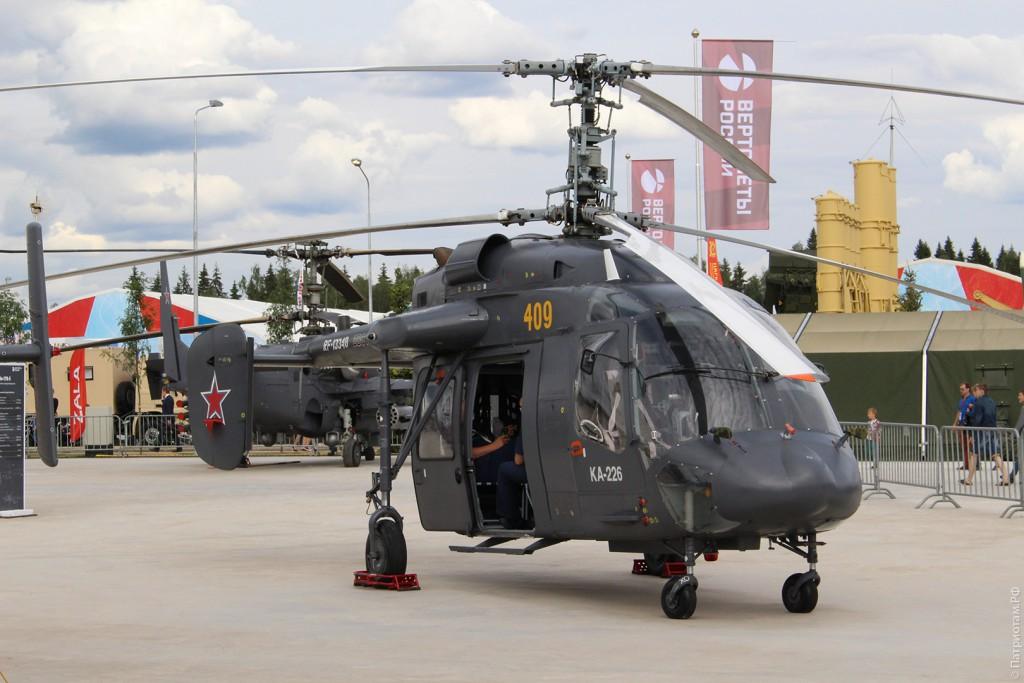 """Многоцелевой вертолет """"Ка-226"""""""