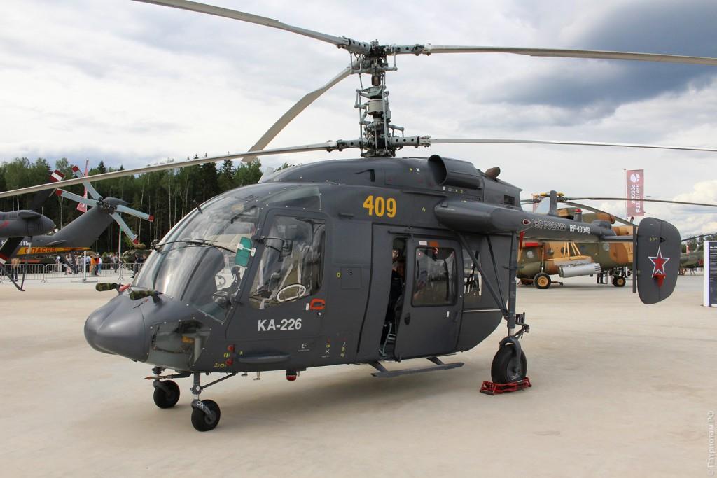 """Многоцелевой вертолет """"Ка-226""""."""