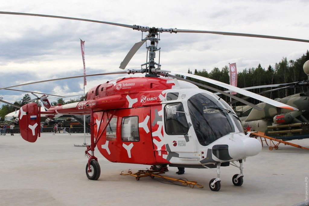 """Легкий многоцелевой вертолет """"Ка-226Т""""."""