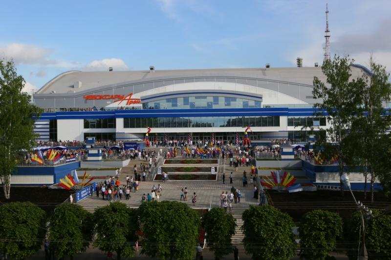 В столице Чувашии открылся Ледовый дворец «Чебоксары Арена»
