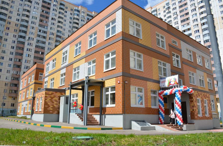 В подмосковном Красногорске открыли новый детский сад с бассейном