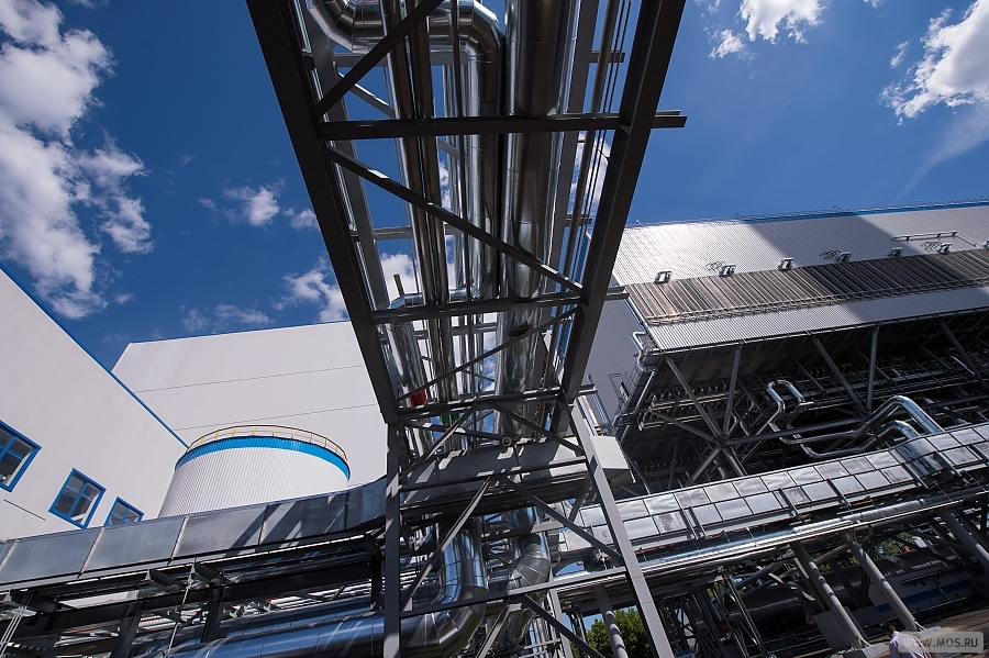 В Москве завершено строительство нового энергоблока на ТЭЦ-12