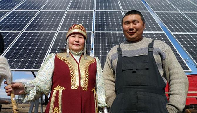 Открыта крупнейшая в Заполярье солнечная электростанция