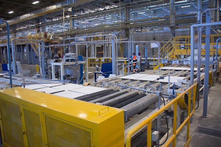 В Татарстане состоялось открытие завода по производству подвесных потолочных плит